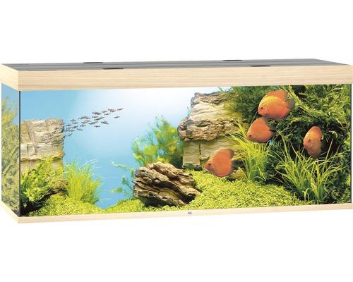 Akvarium JUWEL Rio 450 LED ljust trä underskåp ingår ej