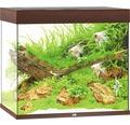 Akvarium JUWEL Lido 200 LED mörkt trä underskåp ingår ej