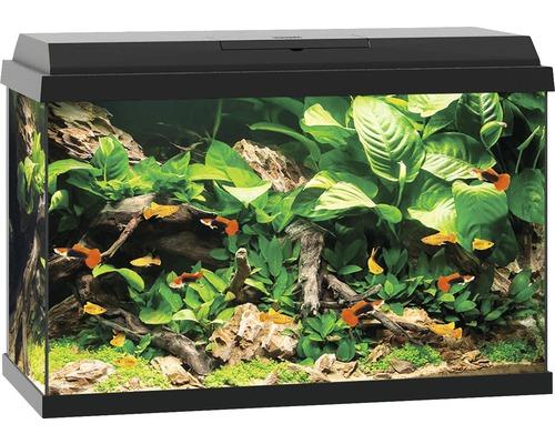 Akvarium JUWEL Primo 70 LED svart underskåp ingår ej