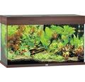 Akvarium JUWEL Rio 125 LED mörkt trä underskåp ingår ej