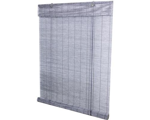 Bamburullgardin ljusgrå 120x180 cm