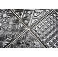 Mosaik Spirit B1 Quadrat 30x30 cm svart