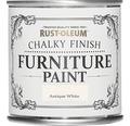 Kalkfärg RUST-OLEUM Möbelfärg Antique White 125 ml
