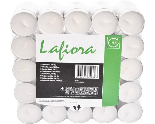 Värmeljus LAFIORA 4h 100st