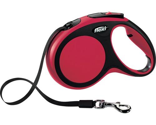 Flexkoppel FLEXI Comfort Rem M 5m 25kg röd