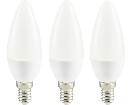 LED kronljus vit E14/3,6W(25W) 250 lm 2700 K varmvit 3-pack