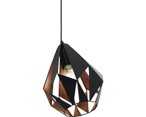 Bordslampa EGLO Carlton 1 utan ljuskälla 1-lågig svart E27
