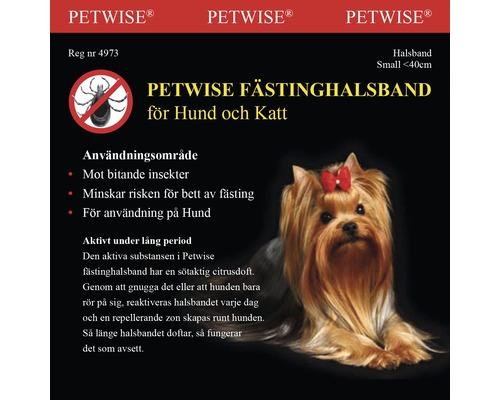 Fästinghalsband Petwise 40cm