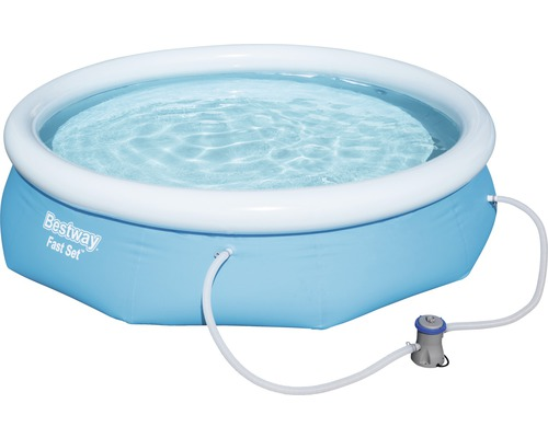 pump till uppblåsbar pool