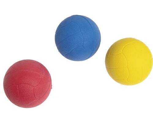 Hundleksak KARLIE skumgummiboll 5cm sorterade färger