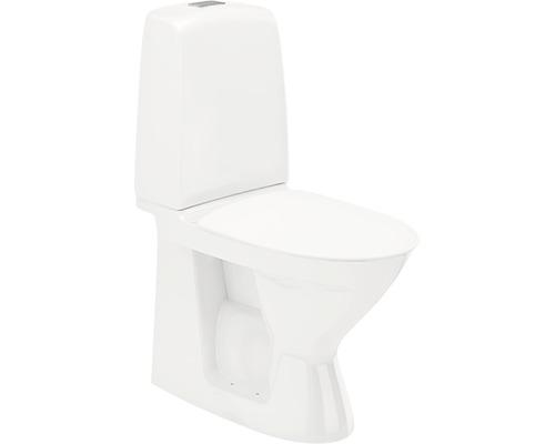 Toalettstol IFÖ Spira 6260 rimfree hårdsits vit för limning