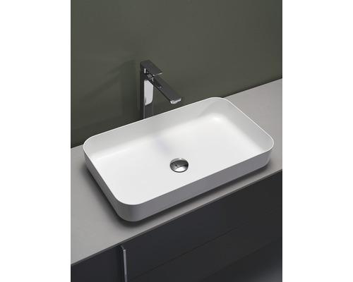 Tvättställ HAFA Edge Smooth glaserat stål 1273551