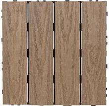 Trall JABO 30x30cm 4-pack komposit brun
