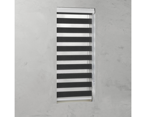 Duo-Rullgardin SOLUNA 80x175 cm svart