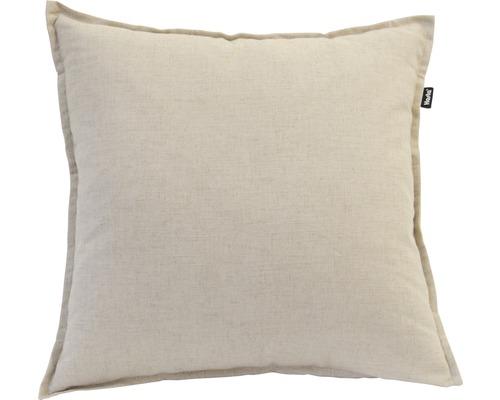 Kuddfodral HASTA Lina linne/polyester beige 50x50cm