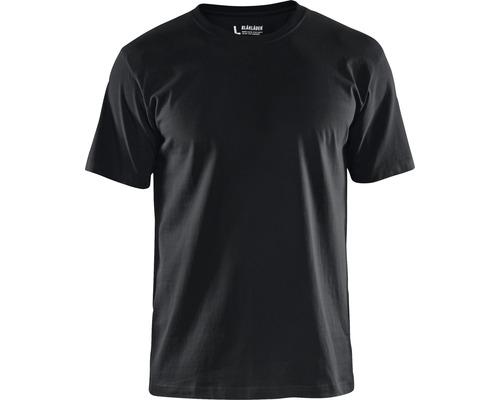 T-Shirt BLÅKLÄDER svart strl. M