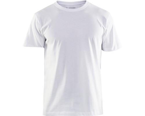 T-Shirt BLÅKLÄDER vit strl. M