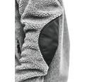 Fiberpälsjacka BLÅKLÄDER grå XL