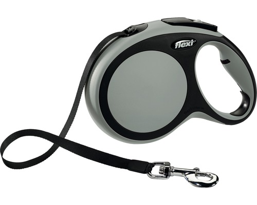 Flexkoppel FLEXI Comfort Rem L 8m 50kg grå