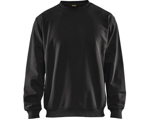 Sweatshirt BLÅKLÄDER svart strl. M