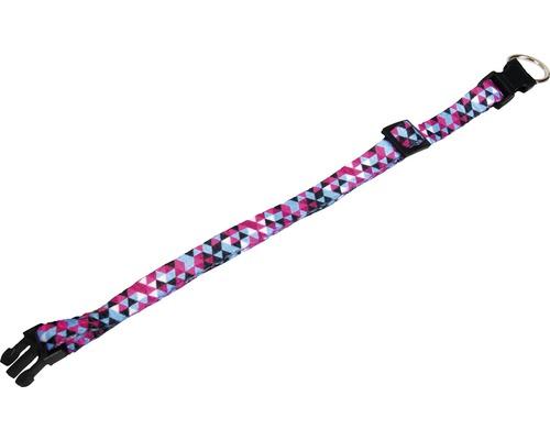 Halsband KARLIE Geo 1x20-35cm blå