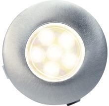 Decklight BOLTHI Connect 6-LED 0,6W Ø 35cm 2700K IP67 rostfritt stål klart glas 4 styck