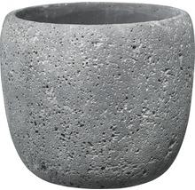 Blomkruka SOENDGEN Bettona cement Ø22x19cm mörkgrå