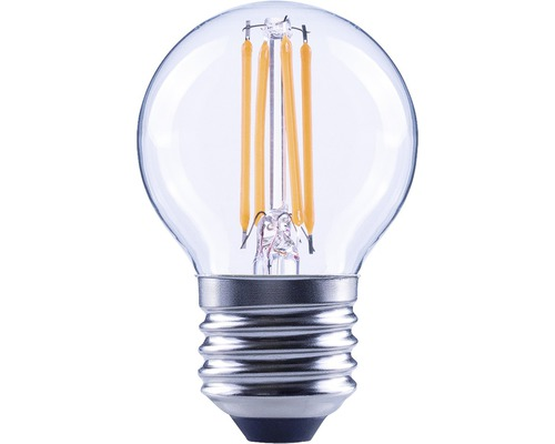 Klotlampa FLAIR LED 4W E27 G45 filament klar 470lm 2700K varmvit