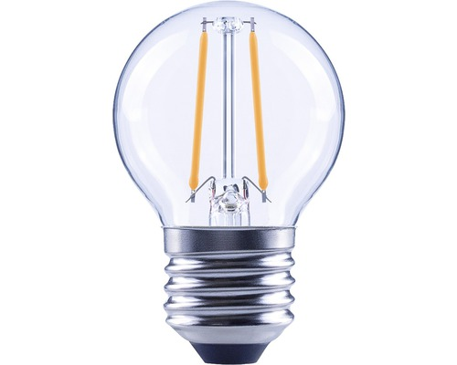 Klotlampa FLAIR LED 2,2W E27 G45 filament klar 250lm 2700K varmvit