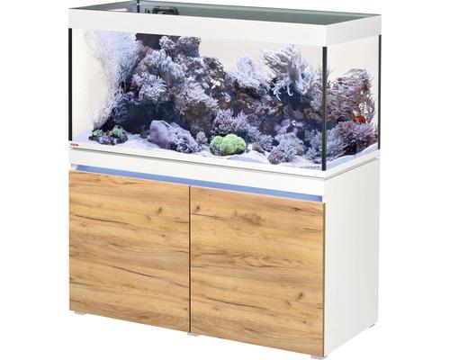 Akvariumkombination EHEIM Incpiria 430 Reef inkl. matarpump och underskåp alpin/ek