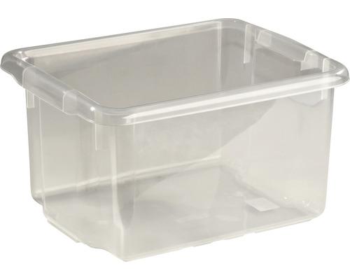 Förvaringsbox NORDISKA PLAST Nordic 15l transparent