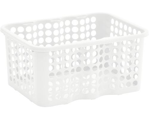 Förvaringskorg NORDISKA PLAST Rondo 6 l vit