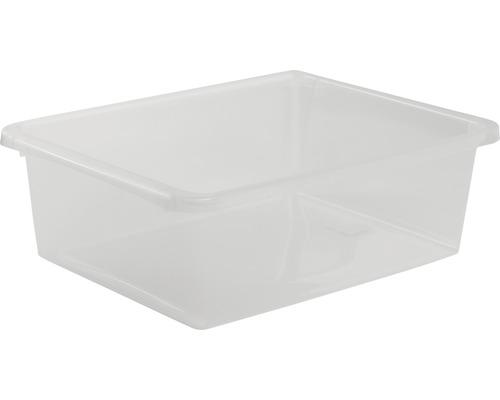 Förvaringsbox NORDISKA PLAST Store It 10 l transparent