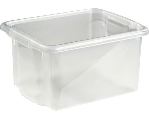 Förvaringsbox NORDISKA PLAST Nordic 23l transparent