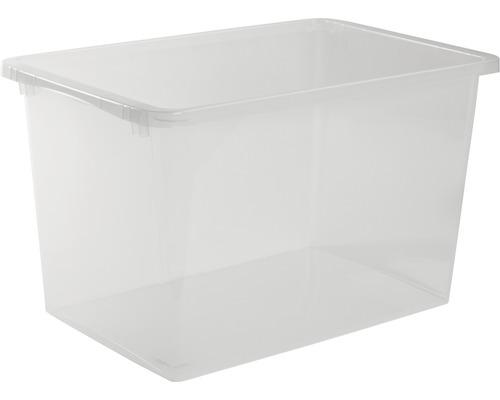Förvaringsbox NORDISKA PLAST Store It 60l transparent