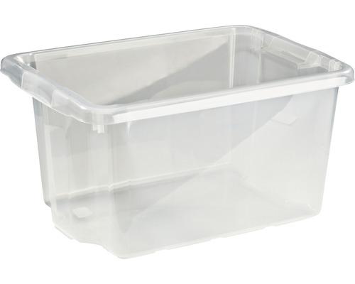 Förvaringsbox NORDISKA PLAST Nordic 33l transparent