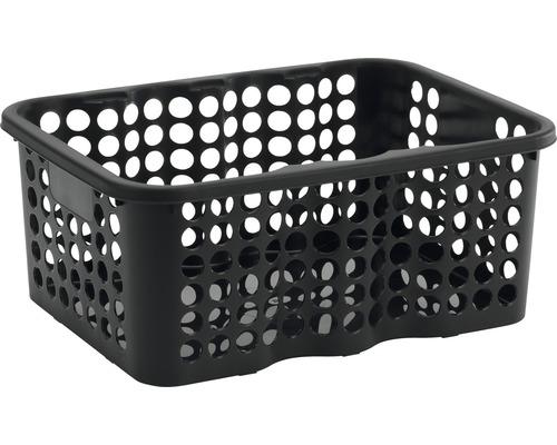 Förvaringskorg NORDISKA PLAST Rondo 12 l svart