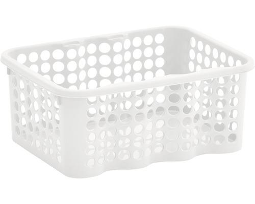 Förvaringskorg NORDISKA PLAST Rondo 1,5 l vit