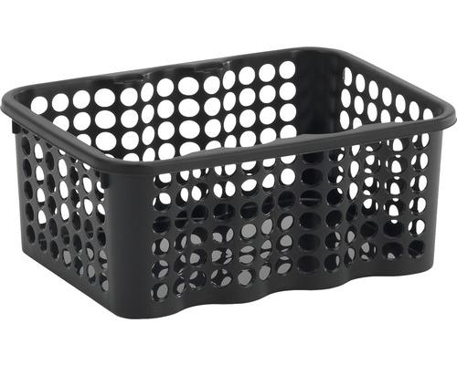 Förvaringskorg NORDISKA PLAST Rondo 1,5 l svart