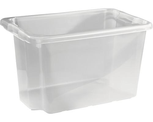 Förvaringsbox NORDISKA PLAST Nordic 55l transparent