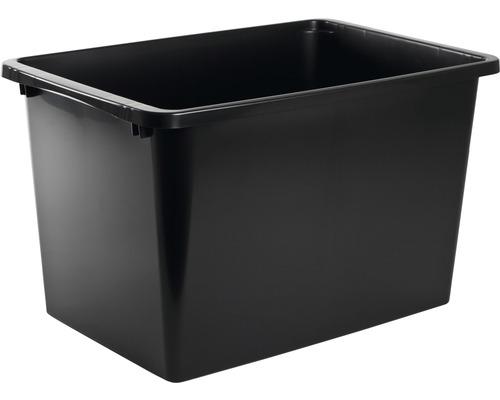 Förvaringsbox NORDISKA PLAST Store It 60 l svart