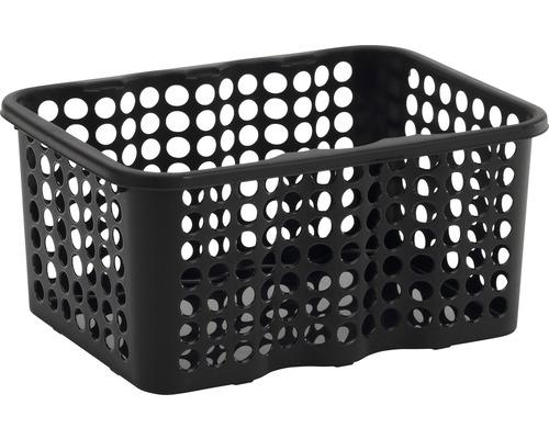Förvaringskorg NORDISKA PLAST Rondo 6 l svart