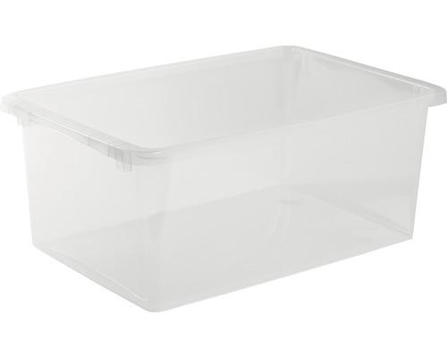 Förvaringsbox NORDISKA PLAST Store It 40 l transparent