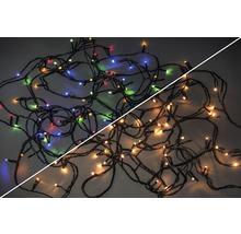 Ljusslinga LAFIORA LED 120 varmvita-flerfärgade lampor inkl. kontrollerfunktion IP44