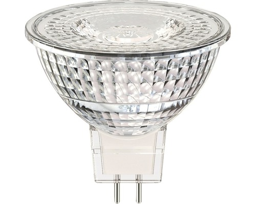 Reflektorlampa FLAIR LED MR16 GU5,3 3,3W klar 230lm 2700K varmvit