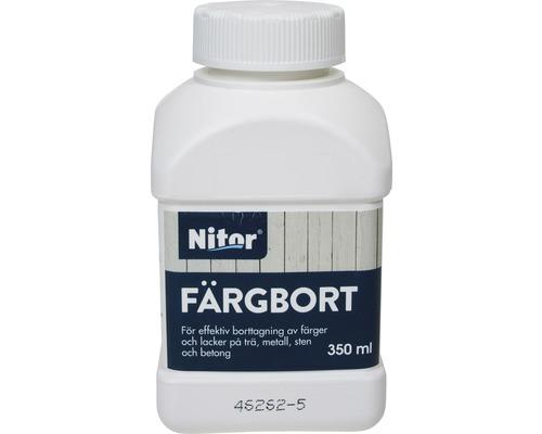 Nitor Färgbort 350 ml