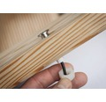 Decklight PAULMANN MicroPen II Plug & Shine 5x0,22W 5x3lm 3000K varmvit Ø 15/10mm IP 67 230/24V silver 5 styck
