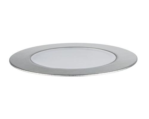 Golvspot PAULMANN Floor Eco Plug & Shine 1W 100lm 3000K Ø 70/63mm IP65 230/24V silver