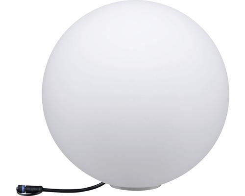 Trädgårdsbelysning PAULMANN Globe Plug & Shine 6,5W 430lm 3000K Ø 400mm IP67 230/24V vit