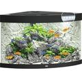 Hörnakvarium JUWEL Trigon 190 LED svart